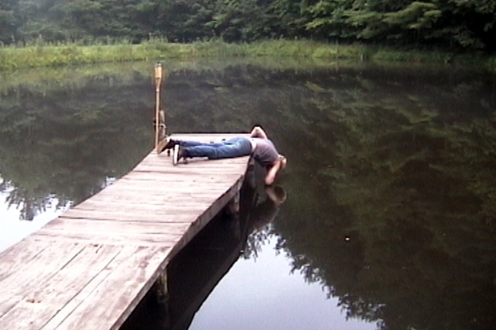 'communal pond apology' - still from 'Project Apology' - video - 2007 and ongoing